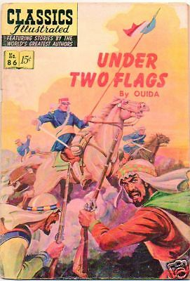 Classics Illustrated :: 86 :: Under Two Flags