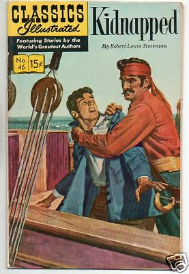 Classics Illustrated :: 46 :: Kidnapped