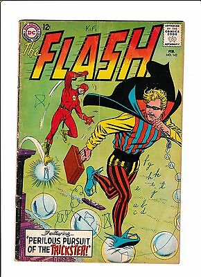 "Flash #142  [1964 Gd-]  ""perilous Pursuit Of The Trickster!"""