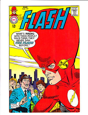 "Flash  No.177    : 1968 :    : ""The Swell-Headed Super-Hero!"" :"