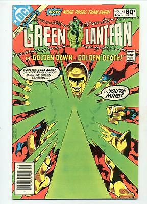 Green Lantern #145     Golden Dawn Golden Death