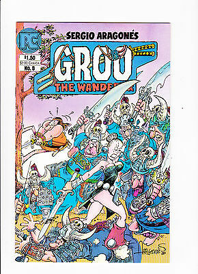 Groo The Wanderer   Vol.2 No.8  :: 1984 ::   :: Chakaal Battles On Cover! ::