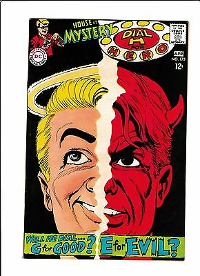 House Of Mystery #173  [1968 Fn+]  Good & Evil Cover!