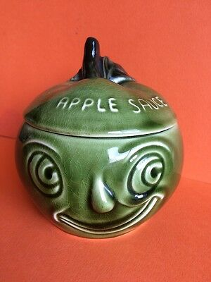 Retro Sylvac Apple Sauce Face Pot  4549