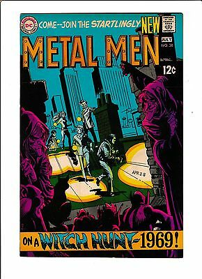 """Metal Men No.38   : 1969 :   : """"On A Witch Hunt-1969!"""" :"""