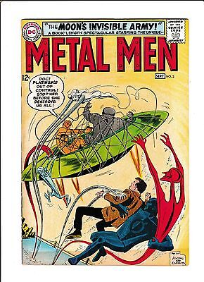 """Metal Men  No.3  : 1963 :   : """"The Moon's Invisible Army!"""" :"""