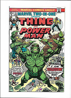 "Marvel Two-In-One #13  [1976 Vg+]  ""i Am Braggadoom!"""