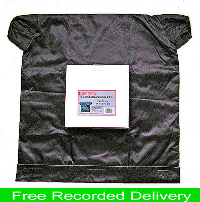 """Paterson Large Film Changing Bag  """"quality Product""""  Rec. Delivery"""