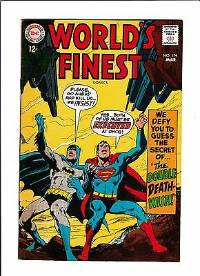 World's Finest #174  [1968 Vg-Fn]  Neal Adams Cover!