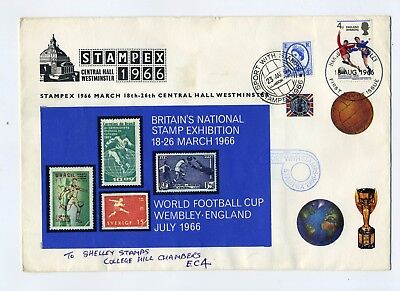 GB 1966 World Cup winners/Stampex special illustrated cover