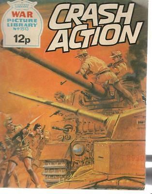 1978 1513 31665 War Picture Library  CRASH ACTION