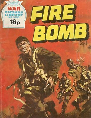 1979 1698 31760 War Picture Library  FIRE BOMB