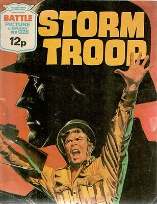 1978 No 1228 33467  Battle Picture Library  STORM TROOP