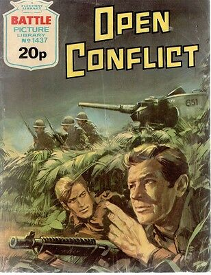 1981 No 1437 33723 Battle Picture Library  OPEN CONFLICT