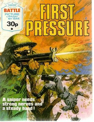 1983 No 1644 33737 Battle Picture Library  FIRST PRESSURE