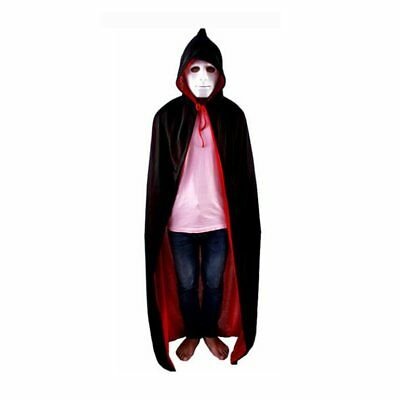 Halloween Masquerade Party Double-sides Death Cosplay Vampire Witch Cloak HK