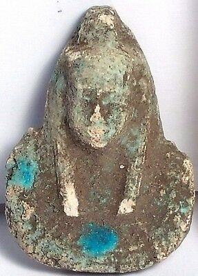 Ancient Egyptian Style Replica Ushabti Amulet 1500-500 Bc Scu333D..collectibles