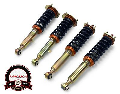 Yonaka Lexus 98-05 GS300 GS400 GS430  Adjustable Coilovers Suspension RWD Shocks