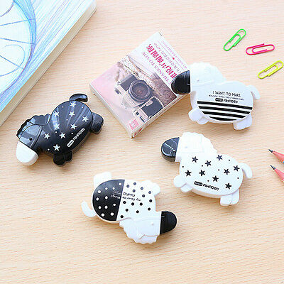 1Pc Horse Roller Correction Tape White Out School Office Supply Stationery. BB