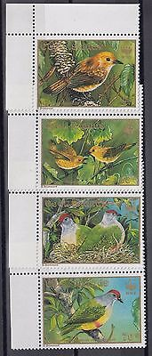 Timbre Stamp  4  Iles Cook Y&t#994-97 Oiseau Bird Neuf**/mnh-Mint 1989 ~A34