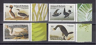 Timbre Stamp 4  Ile Antigua Y&t#885-88  Oiseau Bird Neuf**/mnh-Mint 1986 ~A36