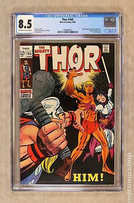 Thor (1962-1996 1st Series Journey Into Mystery) #165 CGC 8.5 1464900021