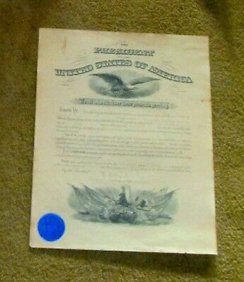 Signed July 13, 1917 Commission for US Army Engineer Clark Bryan, 16x20