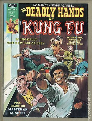 Deadly Hands of Kung Fu (1974 Magazine) #3 VG+ 4.5