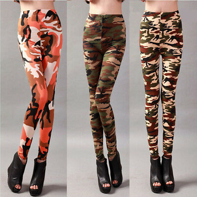 Lady Slim Colorful Pencil Tights Pants Jegging Lady Punk Funky Stretch Trousers
