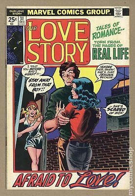 Our Love Story (1969) #31 FN- 5.5