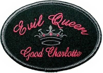 Good Charlotte Iron-On Patch Evil Queen Logo