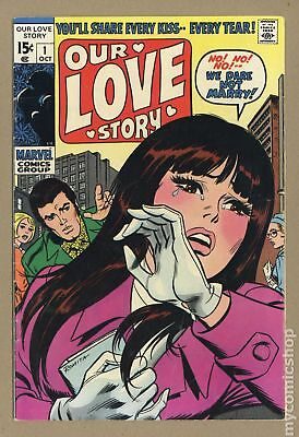 Our Love Story (1969) #1 VG+ 4.5