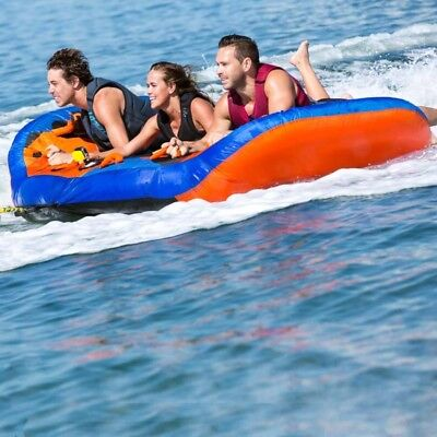 Jet Pilot 3 Wing 3 Person Towable Ski Tube Inflatable Biscuit Boat Ride