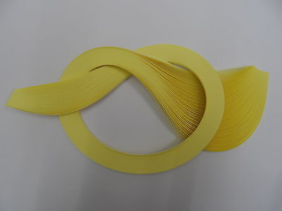 Quilling Paper 3mm  -  Pale Yellow