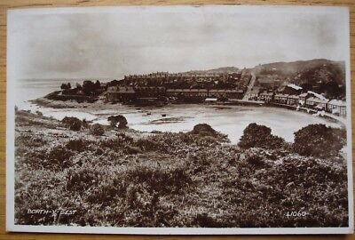 Borth Y Gest. Real photo postcard by Valentine, posted in 1946