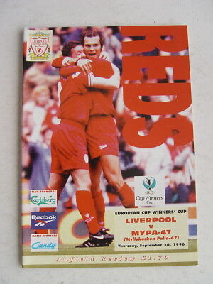 Liverpool v Mypa-47 1996/97 Cup Winners Cup