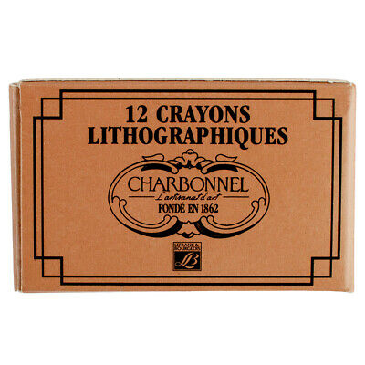 Charbonnel Lithographic Pencil No 2 Medium Box of 12