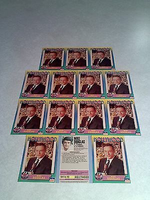 *****Mike Douglas*****  Lot of 14 cards / Hollywood Walk of Fame