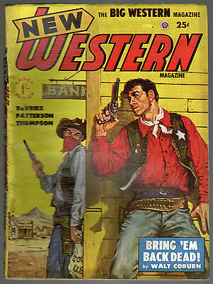 New Western Magazine No Number, Thorpe & Porter Circa Early 1950's