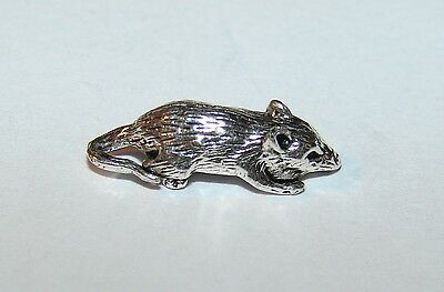 K Very Small metall mini Mouse TALISMAN for pocket Mice Figurine / Figure