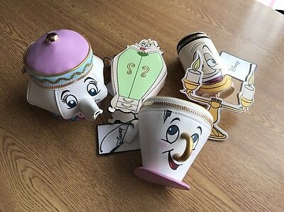 Primark Purse Bundle - Chip, Mrs Potts, Lumiere Etc