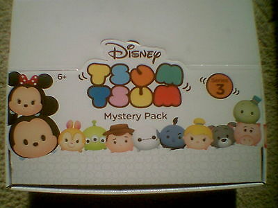 Tsum Tsum Mini Figure Mystery Pack Series 3 & 4  - Complete Your Collection