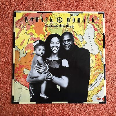 """Womack & Womack - Celebrate The World / Friends (So Called) (R&B) (12"""")"""