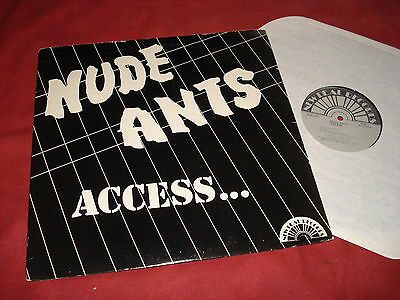 """NUDE ANTS Access 12"""" USA NEW WAVE"""
