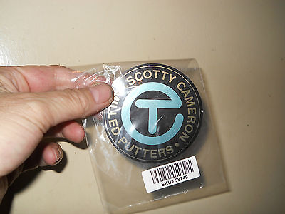 Rare New Scotty Cameron Robin's Egg Blue Circle T Sticker A Nice Gift Idea
