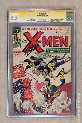 Uncanny X-Men (1963 1st Series) UK Edition #1UK CGC 5.5 SS 1289187002