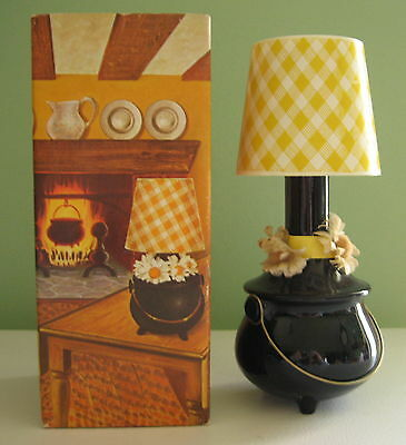 Avon Collectibles 1973 Hearth Lamp