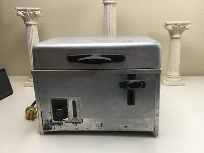 Vintage Lincoln Fresh-O-Matic Steamer Countertop Well Used Untested 125V As Is