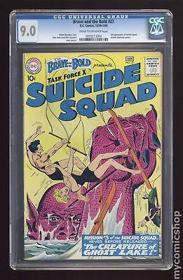 Brave and the Bold (1955 1st Series DC) #27 CGC 9.0 0958213004