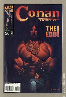 Conan the Barbarian (1970 Marvel) #275 FN 6.0